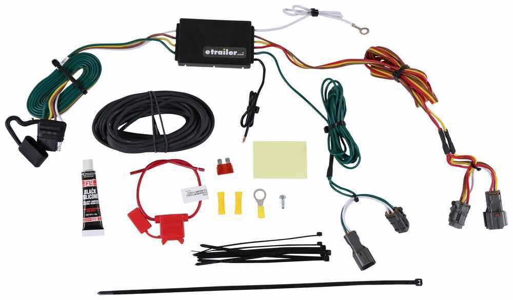 C56256 - 4 Flat Curt Custom Fit Vehicle Wiring