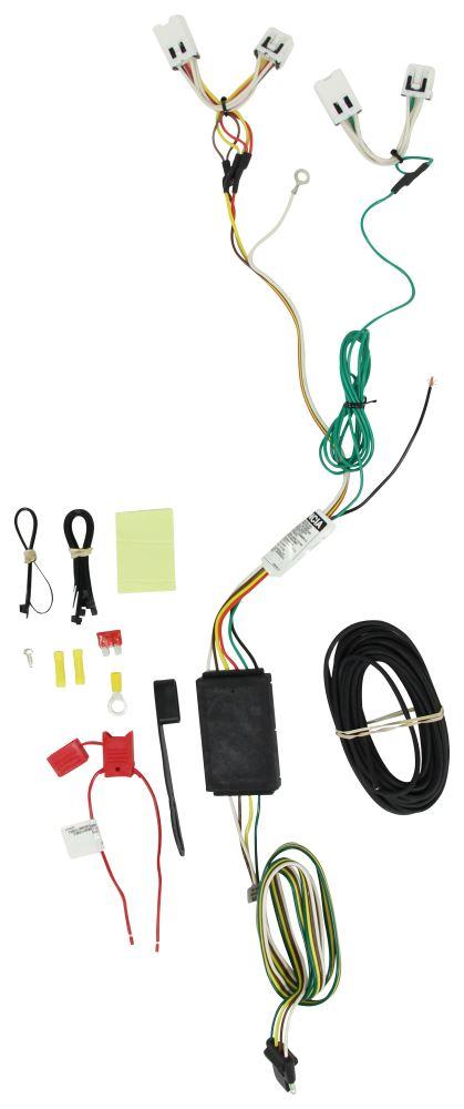 Curt 4 Flat Custom Fit Vehicle Wiring - C56279