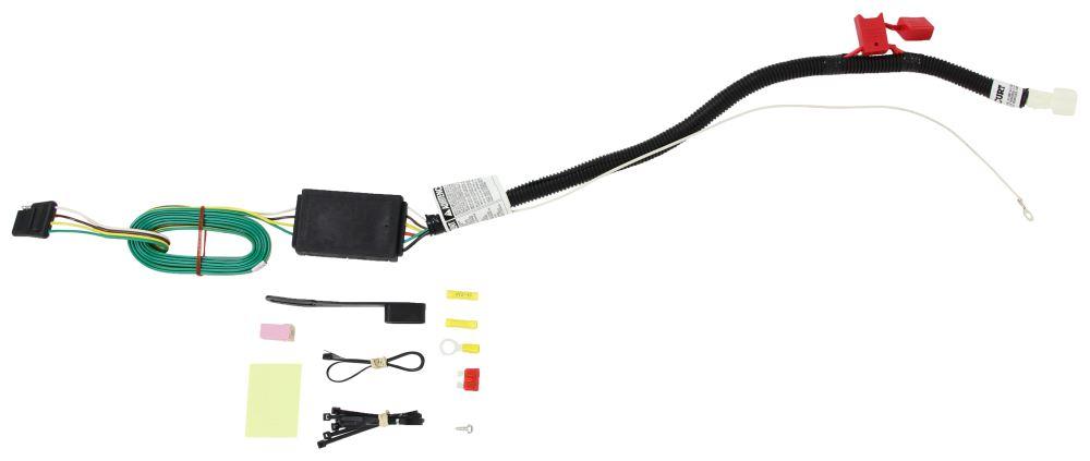 Custom Fit Vehicle Wiring C56291 - 4 Flat - Curt