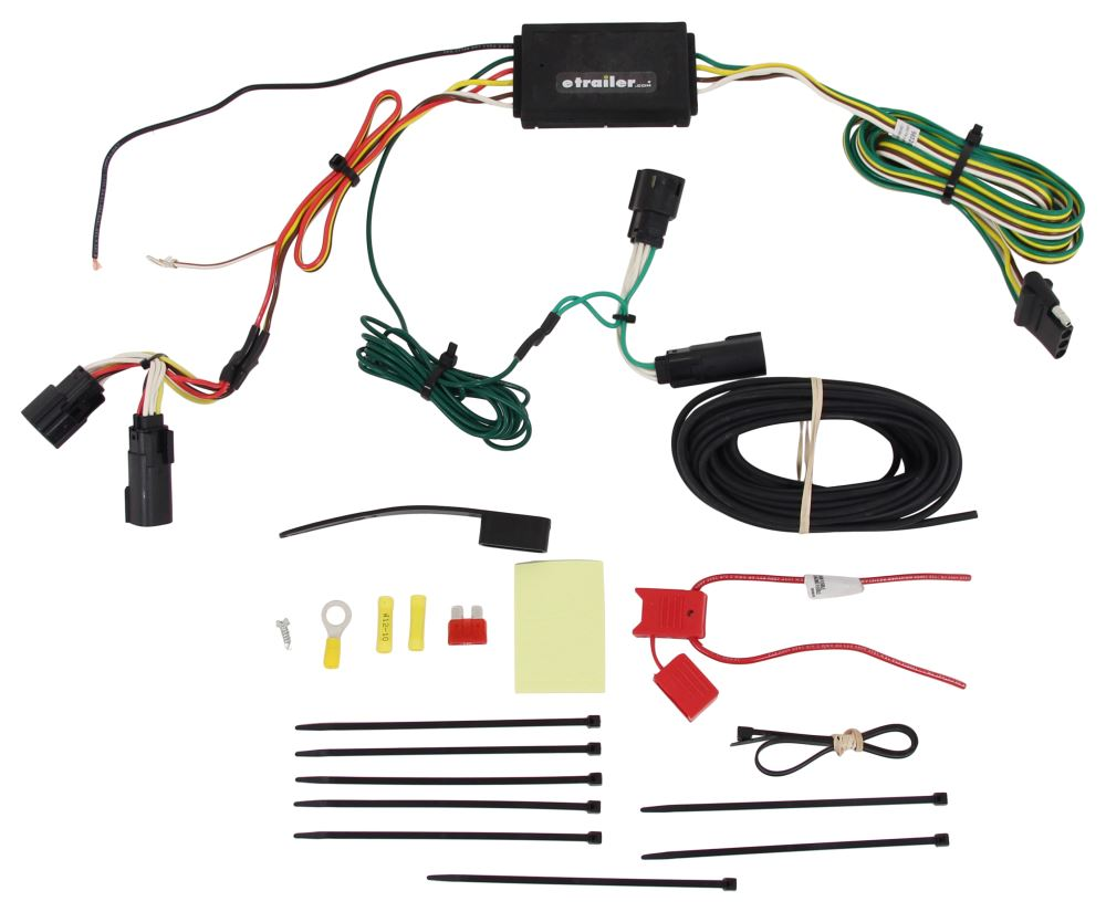Curt 4 Flat Custom Fit Vehicle Wiring - C56320