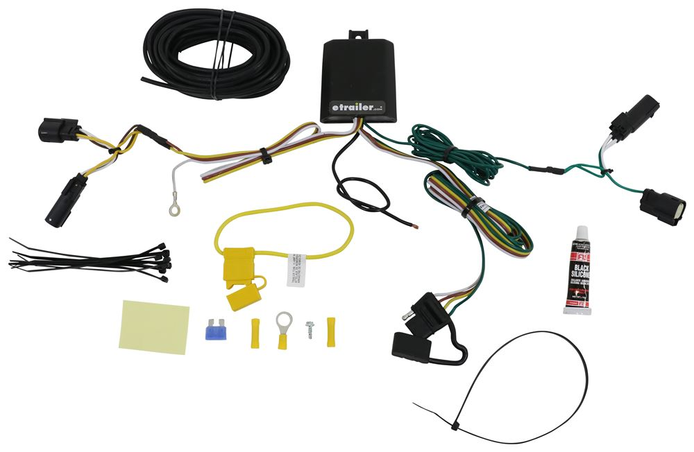 Custom Fit Vehicle Wiring C56327 - Custom Fit - Curt
