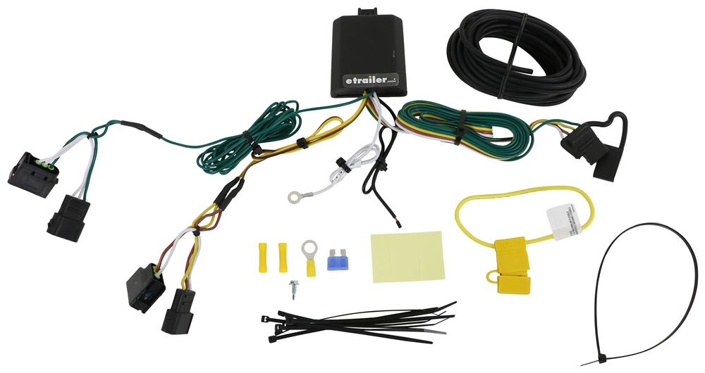Curt Trailer Hitch Wiring - C56329