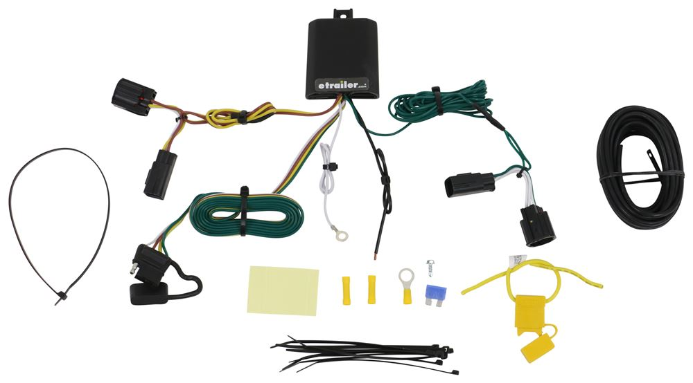 Curt 13650 56329 45034 Class 3 Trailer Hitch with 4-Pin Wiring Harness and Ball Mount with Ball and Hitch Pin Bundle