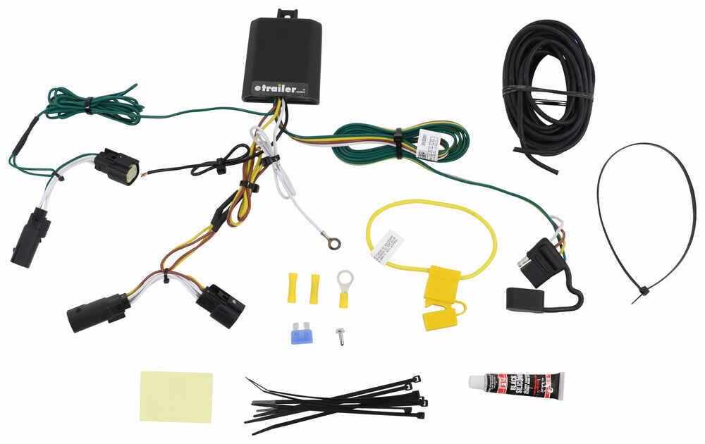C56351 - Powered Converter Curt Trailer Hitch Wiring