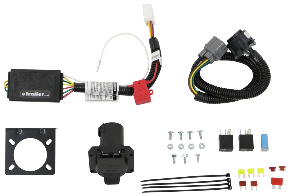 Curt Powered Converter Custom Fit Vehicle Wiring - C56366