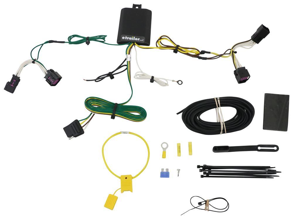 C56372 - Custom Fit Curt Custom Fit Vehicle Wiring