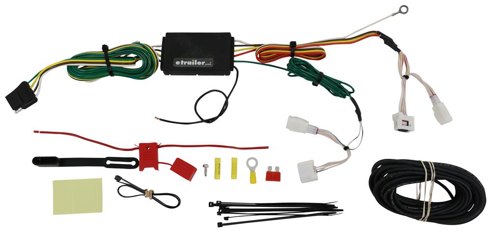 C56377 - Powered Converter Curt Trailer Hitch Wiring