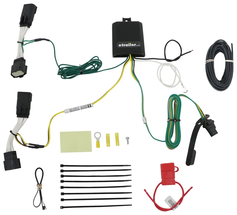 Custom Fit Vehicle Wiring C56407 - Custom Fit - Curt