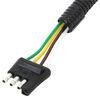 curt wiring 4 flat 7 blade c57186