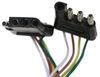 C58911 - Custom Curt Tow Bar Wiring