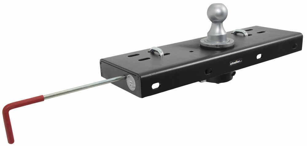 Curt Double Lock, Flip and Store Gooseneck Hitch - 30,000 lbs 30000 lbs GTW C60607