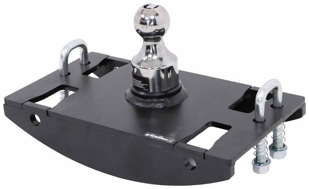 C60633 - Removable Ball - Stores in Hitch Curt Gooseneck Hitch