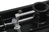 Curt Double Lock, Flip and Store Underbed Gooseneck Hitch w/ Installation Kit - 30,000 lbs Removable Ball - Stores in Hitch C607-604