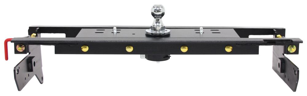 Curt Double Lock, Flip and Store Underbed Gooseneck Hitch w/ Installation Kit - 30,000 lbs 2-5/16 Hitch Ball C60720