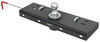 Curt Double Lock, Flip and Store Underbed Gooseneck Hitch w/ Installation Kit - 30,000 lbs Removable Ball - Stores in Hitch C60723