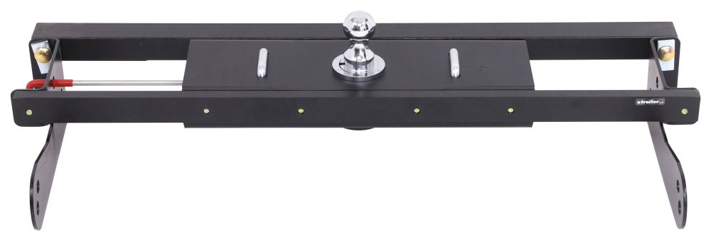 Gooseneck Hitch C611-624 - Wheel Well Release - Curt