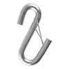 curt accessories and parts s-hooks s-hook with wire keeper for safety chains cables - 3/8 inch 2 000 lbs