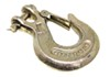 curt accessories and parts clevis hooks hook with spring loaded safety latch - 7/16 inch 40 000 lbs