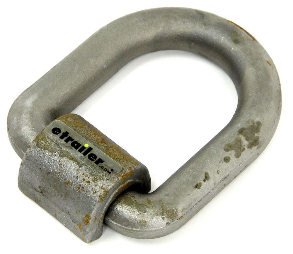 Curt Manufacturing 83780 46760 Lb Cap 1 In X 5 In X 6 In Forged D-Ring W//Bracket