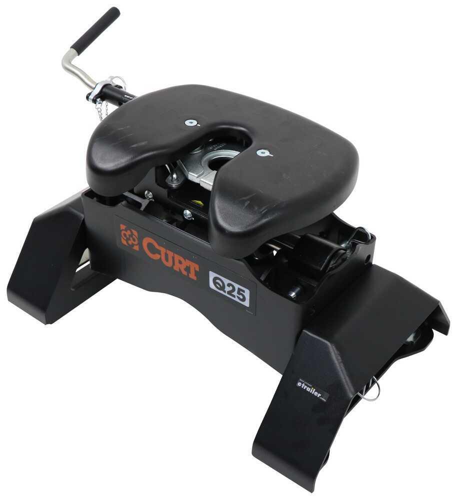 C97FR - Cushioned 360-Degree Curt Fifth Wheel Hitch
