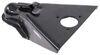 etrailer a-frame trailer coupler standard - thumb latch black 2-5/16 inch ball weld on 14 000 lbs