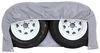 "Classic Accessories Dual-Axle RV Wheel Cover - 58"" Long x 27"" Tall - Gray Wheel Covers CA80107"