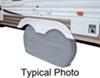 classic accessories rv covers 30 inch tires dual-axle wheel cover - 66 long x tall white
