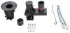 """Convert-A-Ball Cushioned 5th-Wheel-to-Gooseneck Adapter w/ Offset - 12"""" to 16"""" Tall Bolts Over King Pin CAB-C5GX1216"""