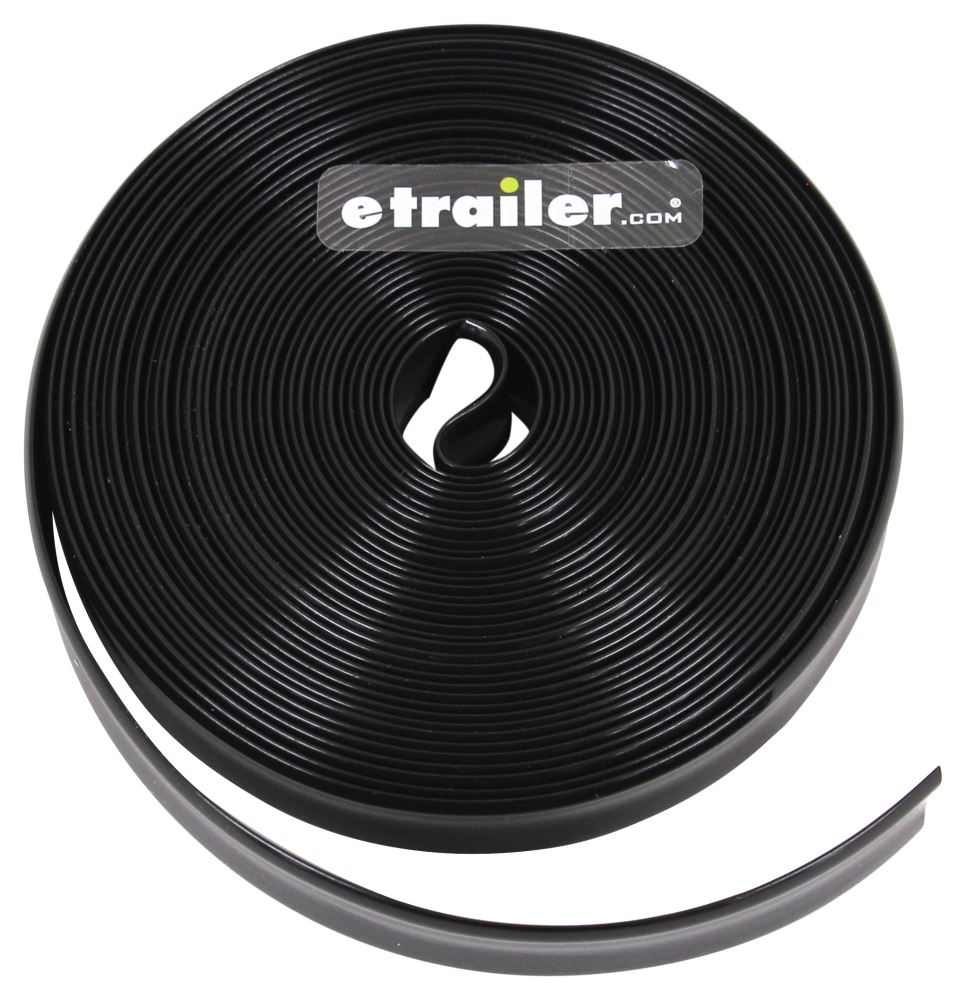 Camco Rv Vinyl Trim Insert Black 25 Long X 3 4 Wide Camco Rv Exterior Cam25173