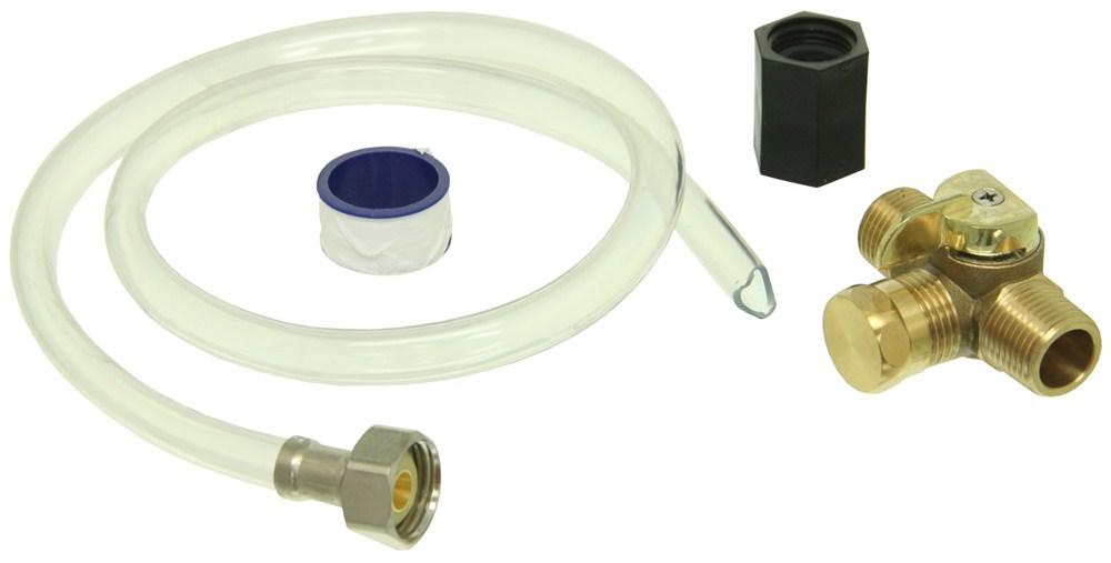 Camco RV Water Pump Winterization Kit - Permanent Water Pump Kit CAM36543