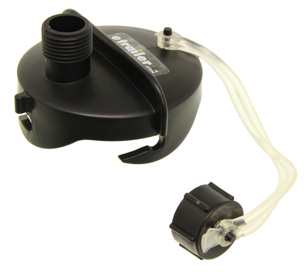 Camco RV Sewer Drain Cap w/ Gray-Water Hose Connection Drain Caps CAM39463