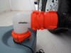 0  rv sewer hose fittings camco 90 degree angle to waste tank in use