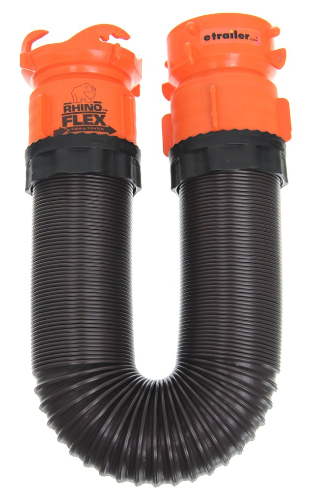 Rhinoflex Rv Sewer Hose Extension W Swivel Lug And Bayonet Fittings 5 Long Camco Rv Sewer Hoses Cam39765