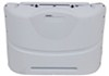 camco rv covers propane tank polyethylene cover for (2) 20-lb steel tanks - polar white