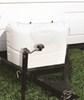camco rv covers propane tank dual 20 lb tanks polyethylene cover for (2) 20-lb steel - polar white