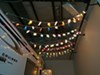 Camco Party Lights - American Flags and Ribbons - 8' Long Light Strand CAM42657