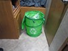 0  patio accessories camco outdoor maintenance pop-up recycle container w/ 3 compartments - 24 inch tall x 18 diameter