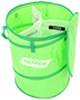 camco patio accessories outdoor maintenance pop-up recycle container w/ 3 compartments - 24 inch tall x 18 diameter