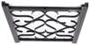 camco rv door parts screen adjustable deluxe grille - black