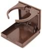 camco kitchen accessories storage and organization adjustable drink holder - brown