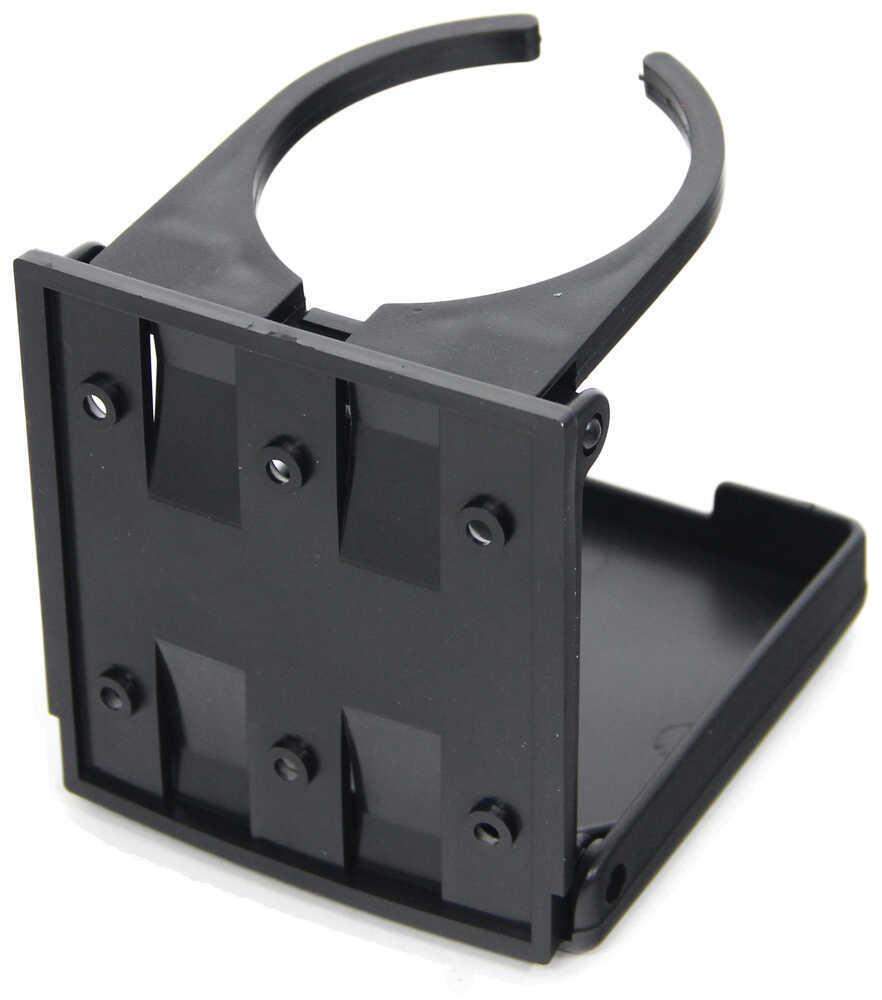Black Camco 44044 RV Adjustable Drink Holder