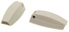 camco rv door parts baggage catches - polar white qty 2