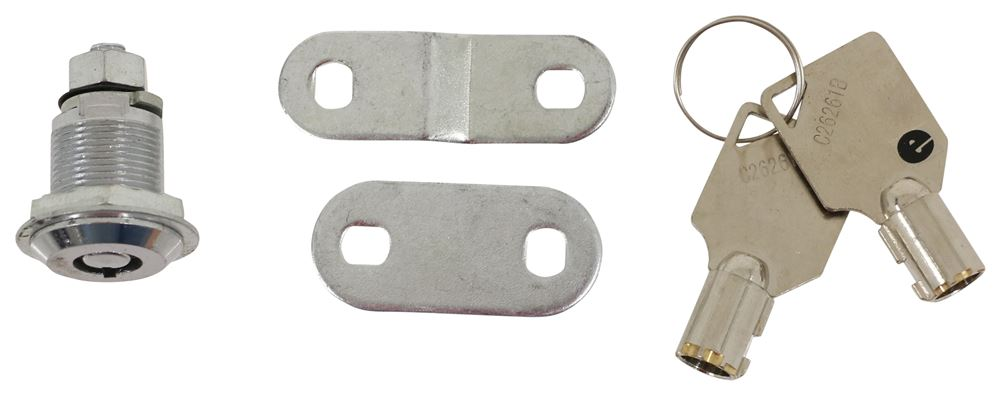 """Camco Cam Lock - Straight or Offset - Tubular Key Operated - 7/8"""" Thick CAM44303"""