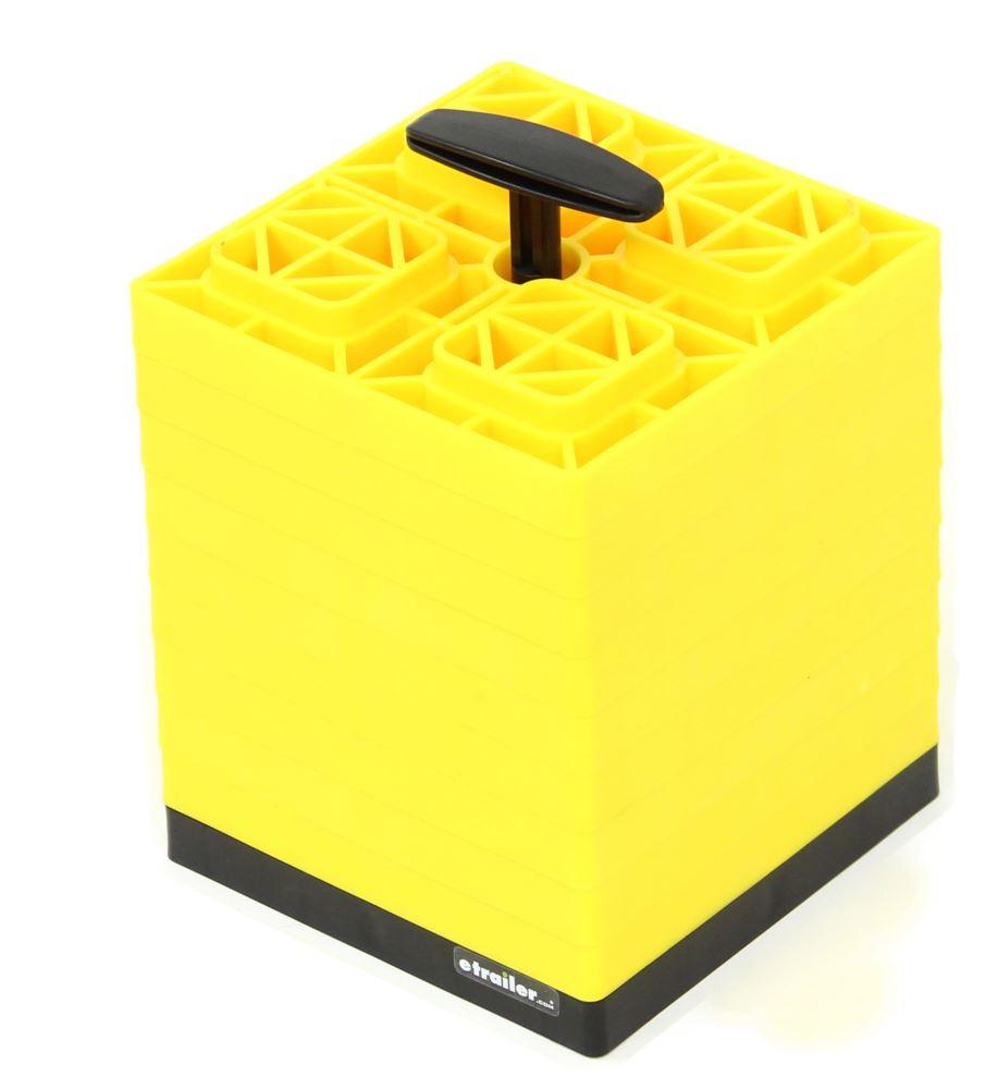 RV Leveling Blocks CAM44512 - Yellow - Camco