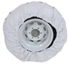 "Camco Vinyl Spare Tire Cover - 32-1/4"" Diameter - Arctic White Spare Tire Cover CAM45341"