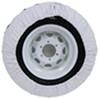 """Camco Vinyl Spare Tire Cover - 29-3/4"""" Diameter - Arctic White 29-3/4 Inch Tires CAM45343"""