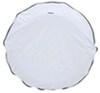 "Camco Vinyl Spare Tire Cover - 25-1/2"" Diameter - Arctic White Spare Tire Cover CAM45347"