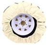 """Camco Vinyl Spare Tire Cover - 29-3/4"""" Diameter - Colonial White 29-3/4 Inch Tires CAM45353"""