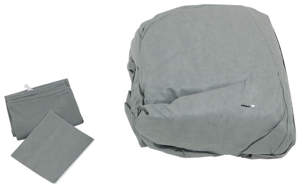Camco UltraGuard Slide-In Camper Cover - 19-1/2' Long Gray CAM45773