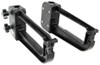 camco rv cargo carrier lawn chair racks clamp-n-carry rack for standard ladders - nylon